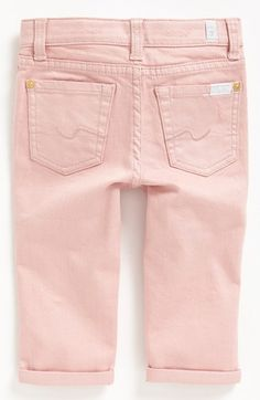 7 For All Mankind® 'Josefina' Jeans (Toddler Girls) (Online Only) available at #Nordstrom