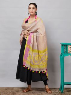 All Dupattas - Dupattas - Clothing Silk Anarkali Suits, Silk Kurti, Jamdani Saree, Silk Dupatta, Salwar Designs, Blouse Designs, Checks Saree, Stylish Blouse Design, Designer Dresses