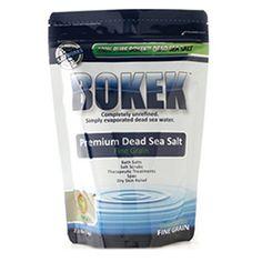 BokekTM Pure Premium Dead Sea Salt for Skin, Hair, Body & Home - Fine Grain (2.2lb) Bokek http://www.amazon.com/dp/B005HIOGXW/ref=cm_sw_r_pi_dp_JN1Awb0VX8F2D
