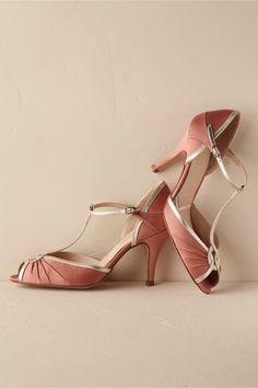 retro glamour | Carmen T-Straps from BHLDN