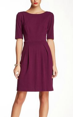 pretty plum dress