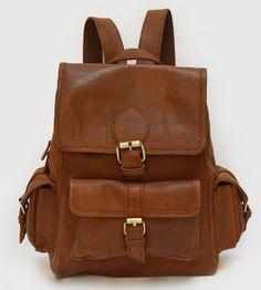 Sadie Leather Backpack