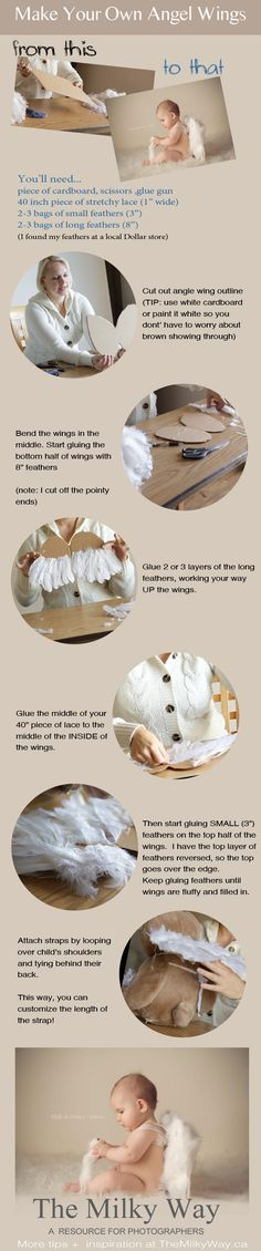 DYI props: Making Angel Wings