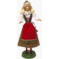 Dolls of the World Swedish Barbie