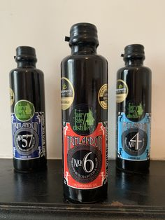 The three Highland gins from Fairytale distillery Scottish Gin, What Katie Did, Gin Tasting, Gin Gifts, Gin Recipes, London Dry, Gin Lovers, Kaffir Lime, Citrus Oil