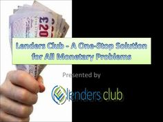 Lenders Club - A One-Stop Solution for All Monetary Problems  Lenders Club is a renowned online money provider in the UK, which…
