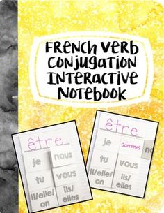 This product was designed to help students memorize verb conjugations and can be used in many different ways. Here are a few of my favorite: Working in pairs, students can quiz each other. Differentiate by having Partner 1 use their notebook to choose a subject pronoun and Partner 2 conjugate the verb