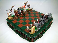 Return Of The Jedi LEGO Chess Set. Amazing