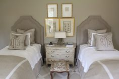 A touch of gold really elevates a gray room.  Bright yellow would be an alternative