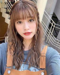 Popteen, Beautiful Asian Girls, Cute Girls, Girl Fashion, Hair Color, Hair Beauty, Japan, Actresses, Pretty