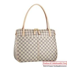 2012 latest models Louis Vuitton Damier Azur Canvas Figheri GM N41175