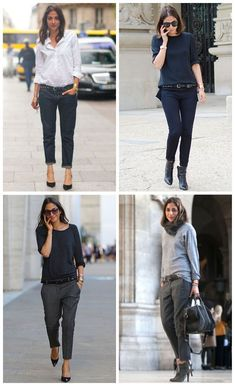 Why can't I find ankle pants in a low rise? This look is so relaxed and easygoing but totally work appropriate. Want!!
