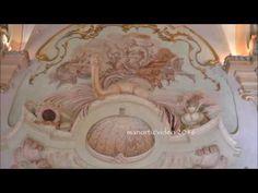 Stucchi e affreschi rococò nella Galleria di Palazzo Pianetti di Jesi (m...