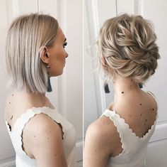 Top 30 Short Haircut Trends for 2020 – Quick & Easy Short Hairstyles The new year is fastly approaching and the means new hair trends. Short hair has really been making a scene lately and 2020 is the perfect time to tak… Short Hair Trends, New Hair Trends, Short Hair Styles Easy, Short Hair Cuts, Medium Hair Styles, Hair Updos Short Hair, Upstyles For Short Hair, Curl Short Hair, Short Hair Blowout
