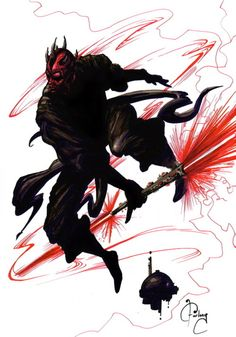 Darth Maul by Wade Furlong #darth #maul #star #wars