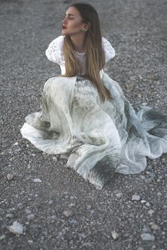 H&M Conscious Collection 2015 Maxi Skirt
