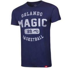 Sportiqe Orlando Magic Cornbread Crocket Premium T-Shirt - Navy Blue
