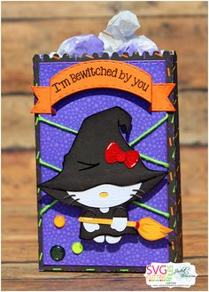 Jamiek711 Designs: 3rd Annual Hello Kitty Blog hop | I'm bewitched by you treat bag