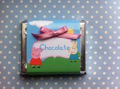 Etiquetas para chocolates