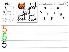 Pro Šíšu: Čísla - pracovní listy Kids Learning Activities, School Ideas, Architecture, Infant Learning Activities, Numbers Preschool, Arquitetura, Architecture Design