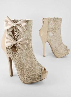 I found 'Lace Peep Toe Boots' on Wish, check it out!