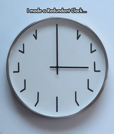 The most redundant clock.