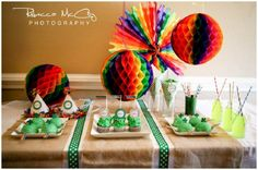 Over the RAINBOW + other party ideas for St. Patrick's Day!