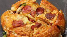 Pizza BREAD Bowl #homemadebread #bread #homemade #foodporn #recipes #desserts #chocolatebread #breakfast #Nestle
