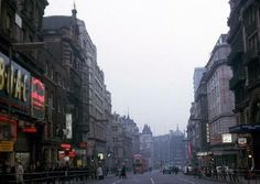 Piccadilly Central London England in 1963