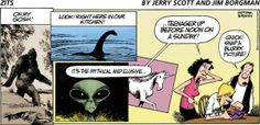 Mythical and elusive – Zits Cartoon for May/04/2014