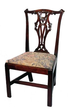 The Bowes Museum > Collections > Explore The Collection Chair Bench, Chair Backs, Furniture Projects, Furniture Design, Dining Room Table, Dining Chairs, Georgian Interiors, Colonial Furniture, January 2018