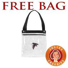 40407d97e1 Free Atlanta Falcons All Clear Bag