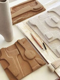 Pottery Sculpture, Sculpture Art, Abstract Sculpture, Sculptures, Abstract Art, Ceramic Clay, Ceramic Painting, Ceramic Pottery, Paperclay