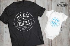 Father son matching shirts father daughter by EpicTees4You on Etsy