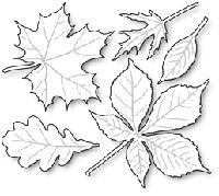 Impression Obsession - Die - Leaves-These are US-made steel dies compatible with most table-top die cutting machines. The group together measures 3 x Autumn Crafts, Autumn Art, Autumn Leaves, Diy And Crafts, Crafts For Kids, Arts And Crafts, Paper Crafts, Leaf Crafts, Impression Obsession