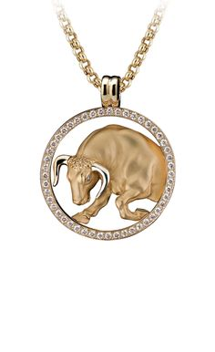 Magerit - Zodiac Collection: Necklace Big Tauro