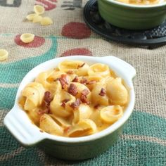 Hard Apple Cider Mac and Cheese - with bacon! AMAZING FLAVOR. The final installment of mac and cheese week!