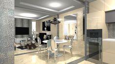 Moderný Glamour Style v Bratislave   Living styles