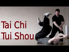 Tai Chi Tui Shou Training 太极推手教学 - YouTube