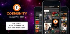 """Cosmunity is a new social network for people who want to keep the experience of Comic Con (or another geek event of your choosing) going all year long. Co-founder and CEO Cole Egger recalled attending a Dallas Comic Con (now known as Fan Expo Dallas) and being """"blown away by the size.""""..."""