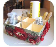 Stempeleinmaleins: Desk Caddy