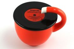 Cool Retro Record Player Mug | I hate to ask but how do you actually drink from this? Or maybe it's just for decoration?