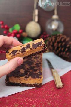 ¿Una alternativa al turrón blando de almendras? Esta receta de turrón de chocolate y dulce de leche es muy fácil, con 4 ingredientes y riquísima ¿te animas!