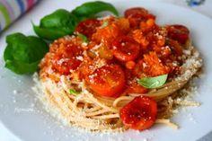 Zdjęcie: Spaghetti z czerwoną soczewicą