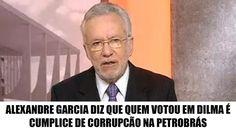 Alexandre Garcia detona o PT e humilha quem votou em Dilma