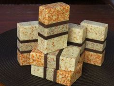 Creative soap by Steso - INSPIRATION:  might be rebatched as it's from scraps.  Nice masculine looking soap.