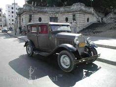 American mafia mob car in Havana Cuba