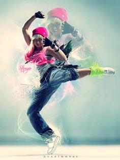 55 Gorgeous Dance Photo Manipulation Artworks and Tutorials
