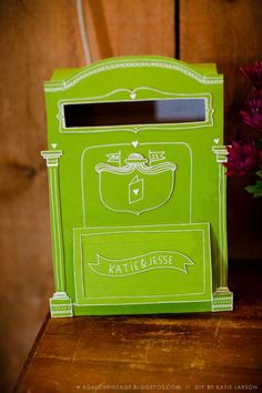 DIY Letterbox on the Blog  do it upcycle  Pinterest  DIY