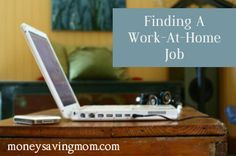 Finding A Work At Home Job